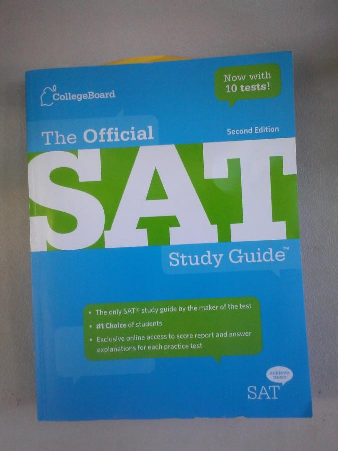 Collegeboard's SAT Study Guide prepares various students for their exam date.