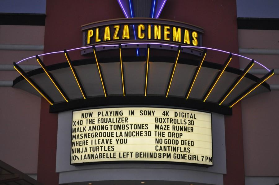 Oxnard's Plaza Cinemas 14 now playing The Equalizer in 4D.