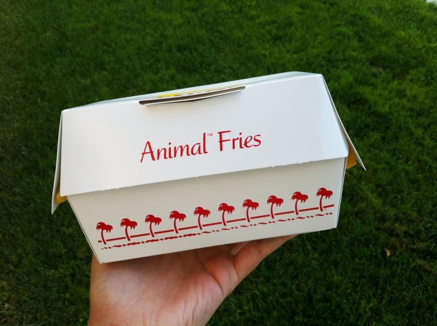 Animal Fries from In-N-Out's secret menu.