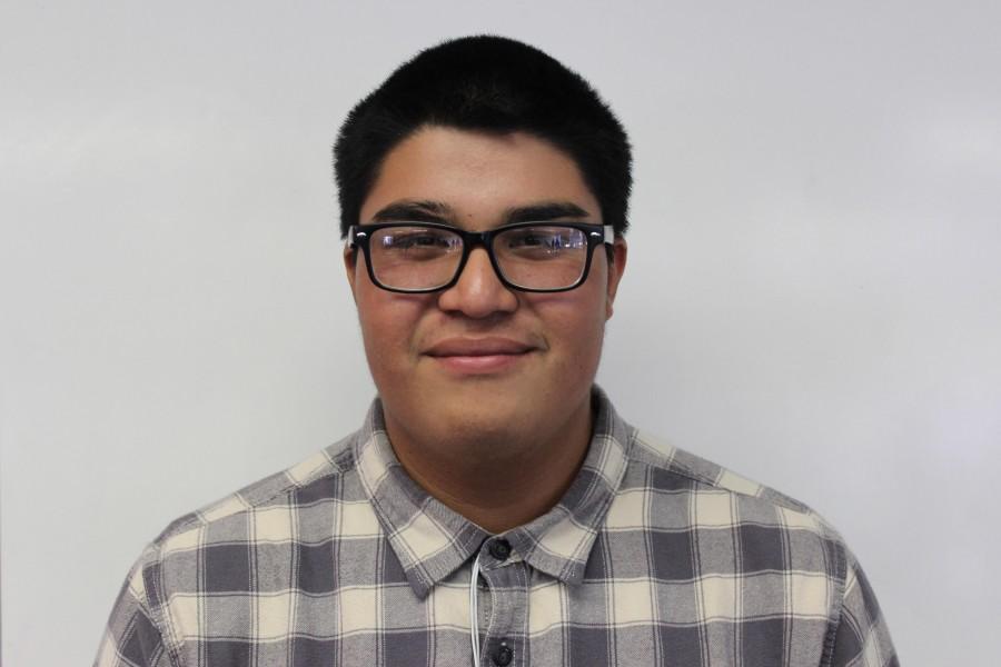 Junior Oxnard High School student and OHS The Buzz Reporter, Jason Toledo.