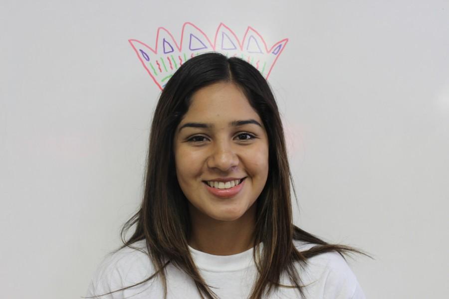 Junior Oxnard High School student and OHS The Buzz Reporter, Edith Gallardo.