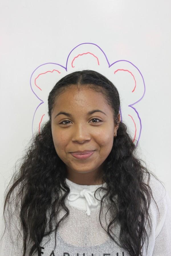 Junior Oxnard High School student and OHS The Buzz Reporter, Tatyana Sharpe.
