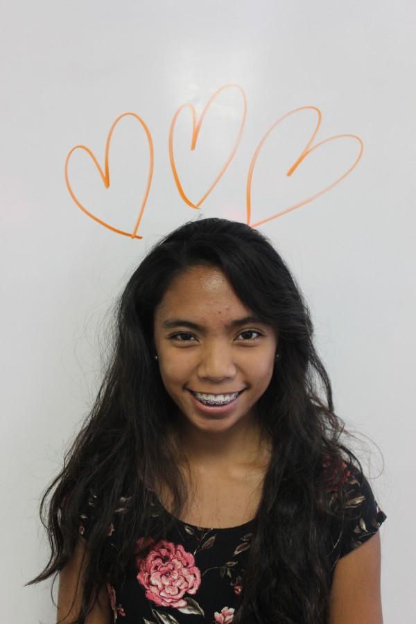Junior Oxnard High School student and OHS The Buzz Reporter, Janine Tadiaman.